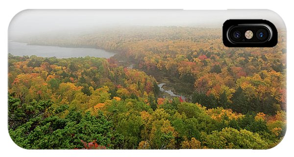 iPhone Case - Lake Of The Clouds 8 by Heather Kenward