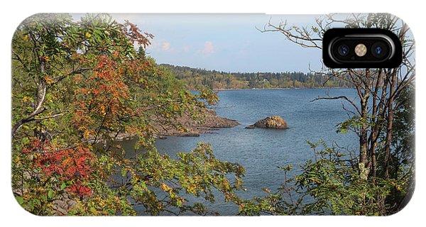 Lake Superior Autumn IPhone Case