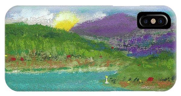iPhone Case - Lake View by David Patterson