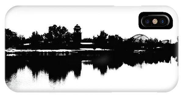 Lakeside Silhouette IPhone Case