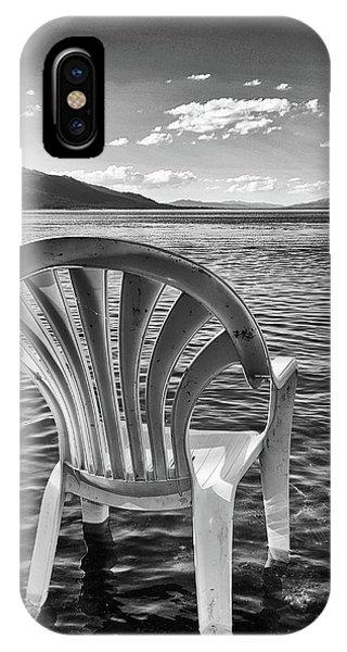 Lakeside Waiting Room IPhone Case