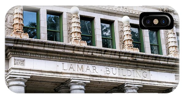 Lamar Building - Augusta Ga IPhone Case