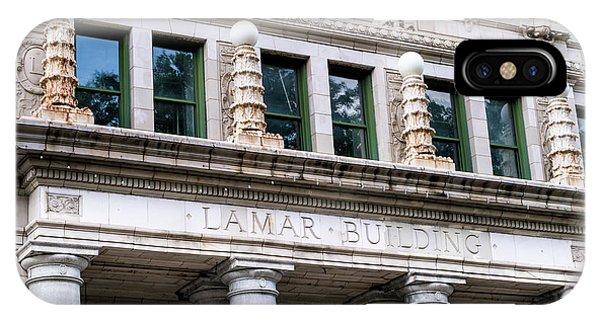 Lamar Building - Augusta Ga IPhone Case