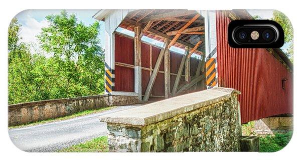 Lancaster Covered Bridge IPhone Case