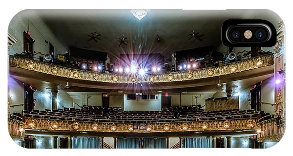 IPhone Case featuring the photograph Landers Theatre Stage View by Allin Sorenson