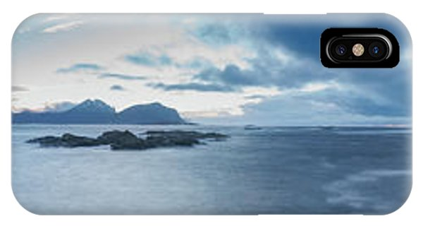 Landscape In The Lofoten Islands IPhone Case