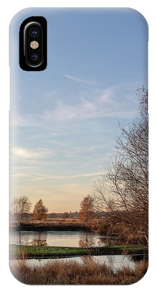 IPhone Case featuring the photograph Landscape Scenery by Anjo Ten Kate