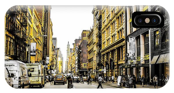 IPhone Case featuring the photograph Lane Only  by Geraldine Gracia