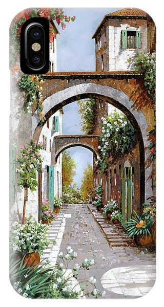 Arched iPhone Case - L'arco Dell'angelo by Guido Borelli
