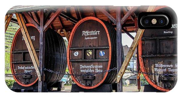 Large Wine Casks IPhone Case