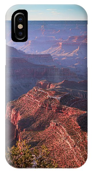 Late Afternoon Blues IPhone Case