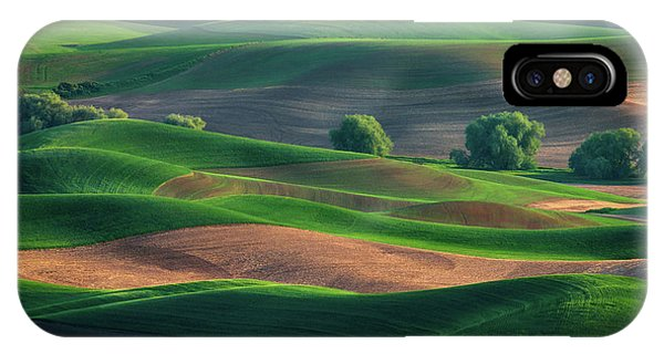 Late Afternoon In The Palouse IPhone Case