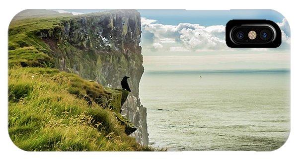 Latrabjarg Cliffs, Iceland IPhone Case