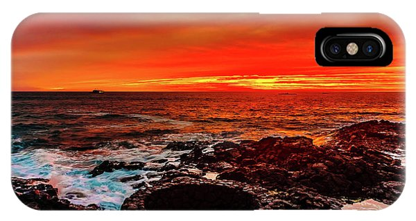 Lava Bath After Sunset IPhone Case