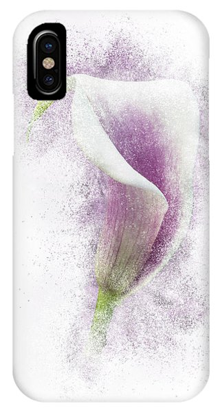 Lavender Calla Lily Flower IPhone Case