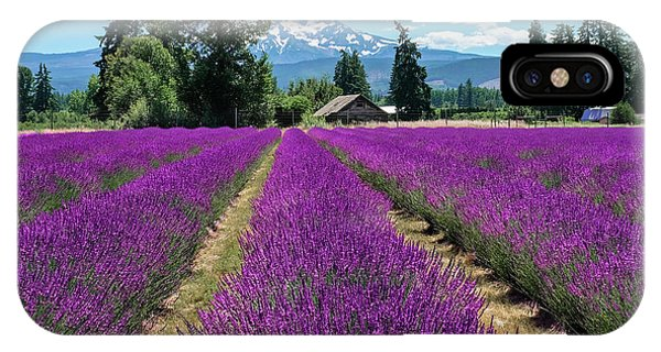 IPhone Case featuring the photograph Lavender Valley Farm by Robert Bellomy