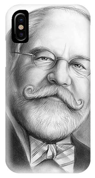 Political iPhone Case - Lawyer Ty Cobb by Greg Joens