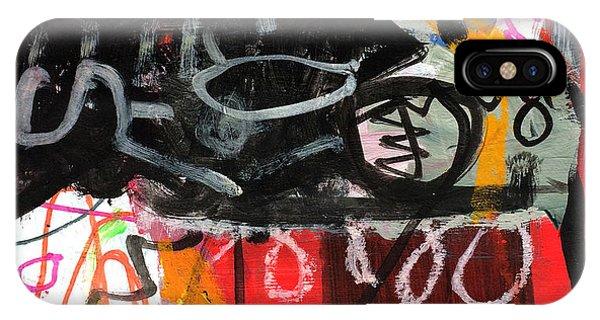IPhone Case featuring the painting Le Jour Et La Nuit by Diane Desrochers