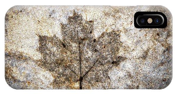 Leaf Imprint IPhone Case