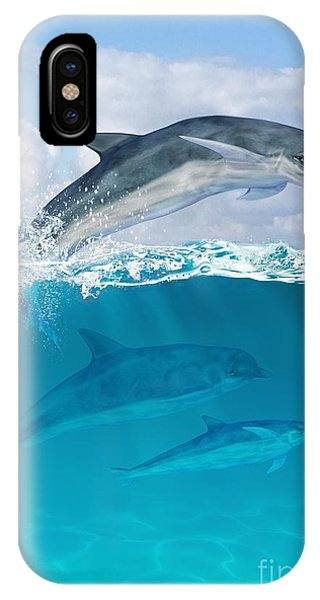 Reef iPhone Case - Leap by John Edwards