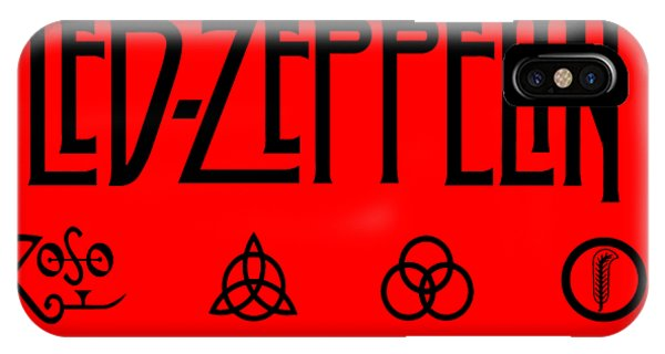 Rock And Roll Jimmy Page iPhone Case - Led Zeppelin Z O S O - Transparent T-shirt Background by Daniel Hagerman