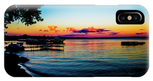IPhone Case featuring the photograph Leech Lake by Stuart Manning