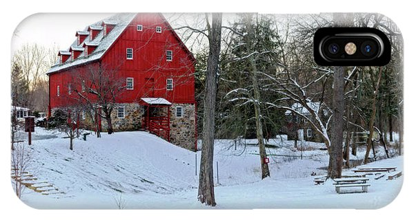 Kingsville iPhone Case - Lee's Merchant Mill Pano by Brian Wallace