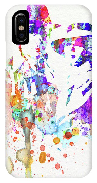 Film iPhone Case - Legendary Casablanca Watercolor I by Naxart Studio