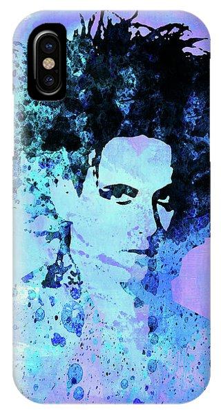 Punk Rock iPhone Case - Legendary Cure Watercolor by Naxart Studio