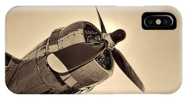 Bomber iPhone Case - Legendary Flying Fortress  by Olivier Le Queinec