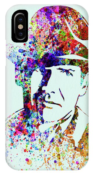 Harrison iPhone Case - Legendary Indiana Jones Watercolor by Naxart Studio