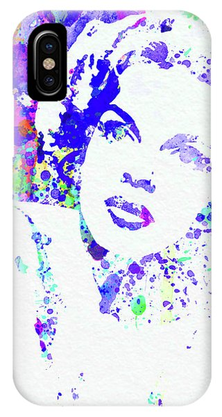 Film iPhone Case - Legendary Judy Garland Watercolor I by Naxart Studio