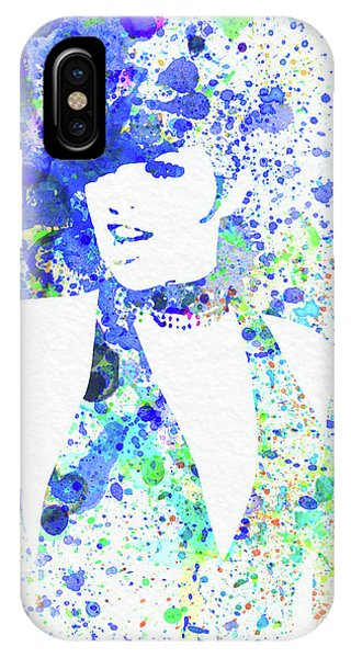 Film iPhone Case - Legendary Liza Minnelli Watercolor II by Naxart Studio