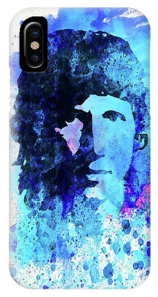 Pink iPhone Case - Legendary Roger Waters Watercolor by Naxart Studio