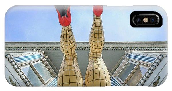 Swanky iPhone Case - Legs Of Haight Ashbury, San Francisco by Eddie Hernandez