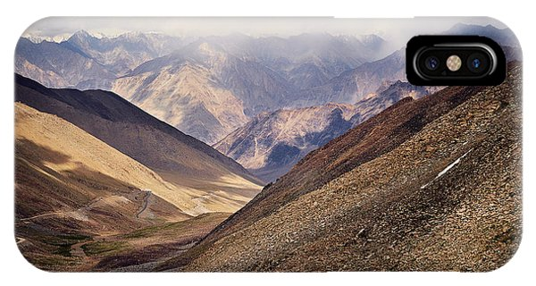 IPhone Case featuring the photograph Leh-manali Mountains by Whitney Goodey