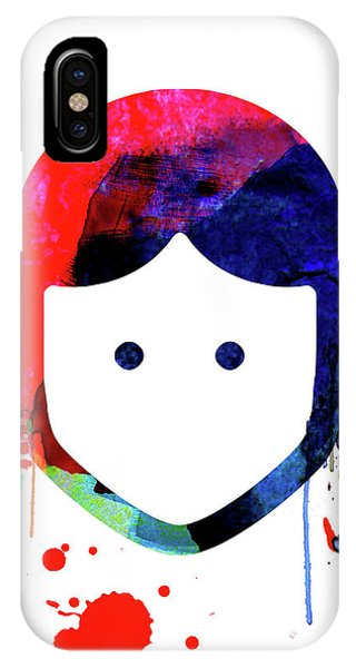 Film iPhone Case - Leia Cartoon Watercolor by Naxart Studio