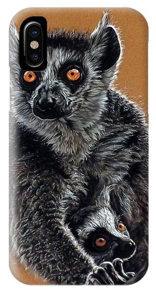 Lemurs IPhone Case