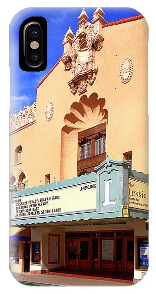 Lensic Performing Arts Center IPhone Case