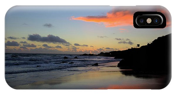 Leo Carrillo Sunset II IPhone Case