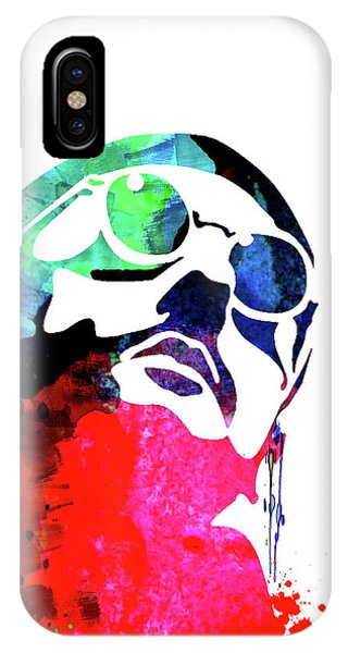 French iPhone Case - Leon Watercolor II by Naxart Studio