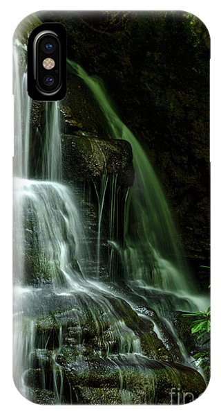iPhone Case - Let Your Living Water Flow by Thomas R Fletcher