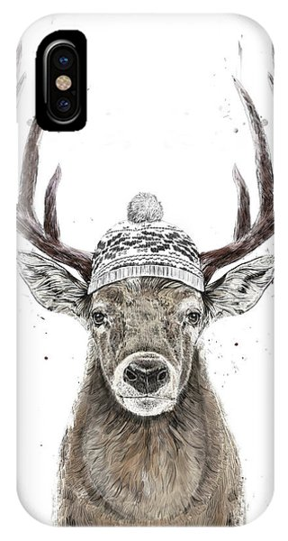 Winter iPhone Case - Let's Go Outside  by Balazs Solti