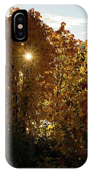 IPhone Case featuring the photograph Letting Go - Autumn Art by Jordan Blackstone