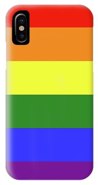 Lgbt 6 Color Rainbow Flag IPhone Case