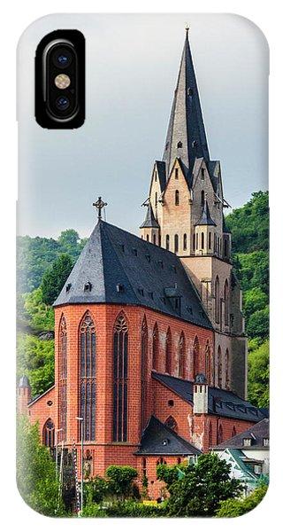 Liebfrauenkirche Oberwesel IPhone Case