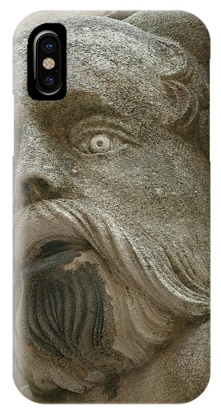 Life Sized Sculptures Of Human Heads IPhone Case