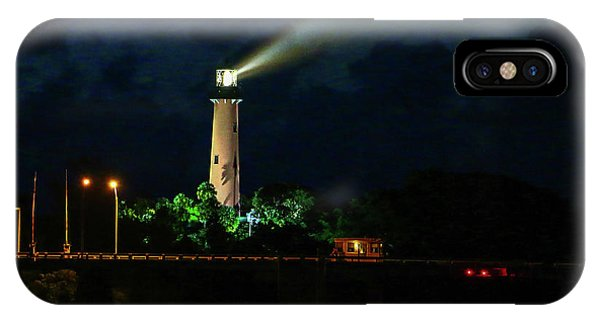 Lighthouse Lightbeam IPhone Case