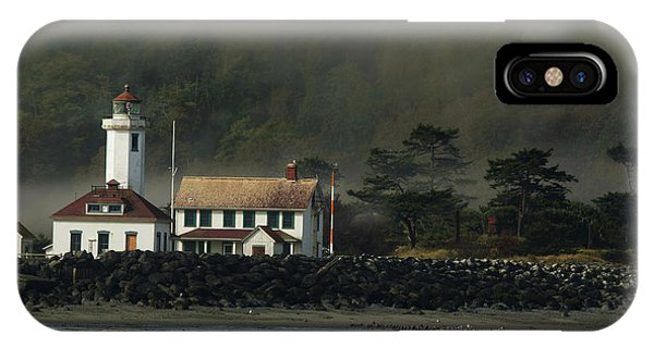 Port Townsend iPhone Case - Lighthouse - Port Wilson by Jeff Burgess