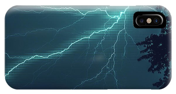 Lightning Grid IPhone Case